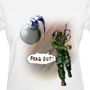 Frag Out!!! Women's T-Shirts - Women's T-Shirt