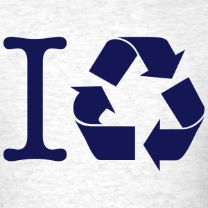 I RECYCLE SYMBOL T-Shirts - Men's T-Shirt