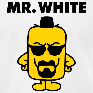 Mr White T-Shirts - Men's T-Shirt by American Apparel