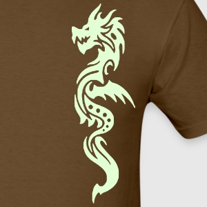 Dragon 12 (Glow in the Dark) - Men's T-Shirt