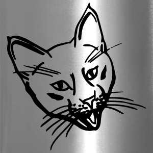 Crazy Kitty Thermal Travel mug - Travel Mug