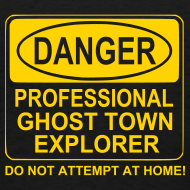 Design ~ Men's Ghost Town Explorer T-Shirt