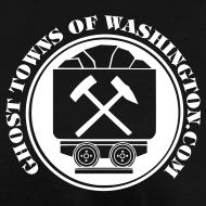 Design ~ Women's Ore Cart Ghost Towns of Washington Logo T-Shirt