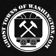 Design ~ Men's Ore Cart Ghost Towns of Washington Logo T-Shirt