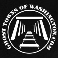 Design ~ Men's Mine Opening Ghost Towns of Washington Logo T-Shirt