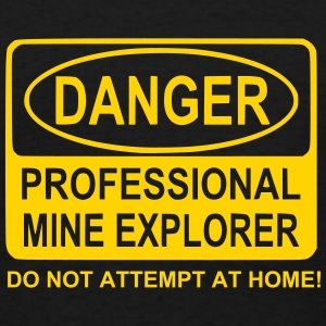 Men's Professional Mine Explorer T-Shirt - Men's T-Shirt