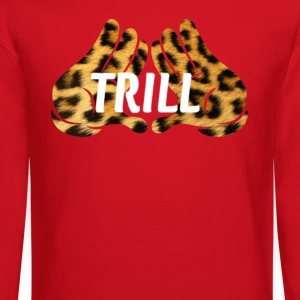 mickeys hand trill Long Sleeve Shirts - Crewneck Sweatshirt