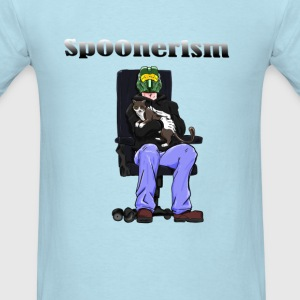Sp00nerism and Cat T-Shirts - Men's T-Shirt