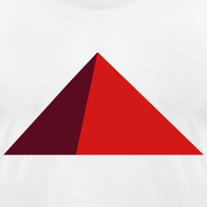 pyramid T-Shirts - Men's T-Shirt by American Apparel