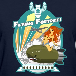 Flying Fortress - Women's T-Shirt