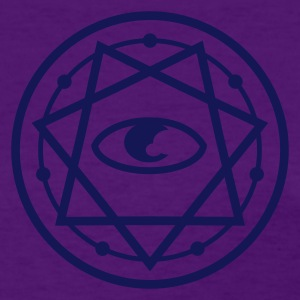 777 Pentagram with Eye 1c Women's T-Shirts - Women's T-Shirt