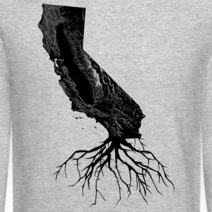 California Roots Shirt Diego Long Sleeve Shirts - Crewneck Sweatshirt