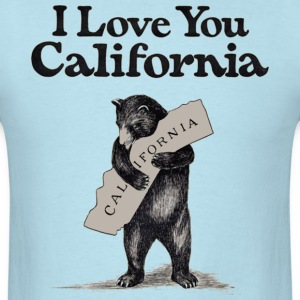 I Love You CA Shirt Diego T-Shirts - Men's T-Shirt