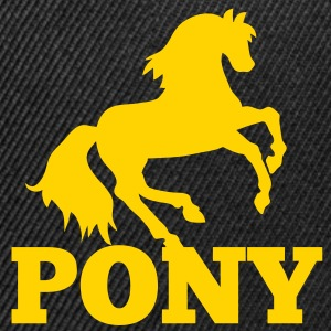 PONY rider riding sport Caps - Snap-back Baseball Cap