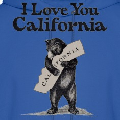 I Love You CA Shirt Diego Hoodies