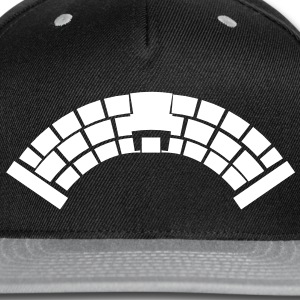 A Bridge simple with medieval stonework  Caps - Snap-back Baseball Cap