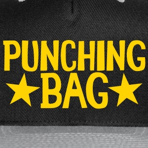 PUNCHING BAG with stars Caps - Snap-back Baseball Cap