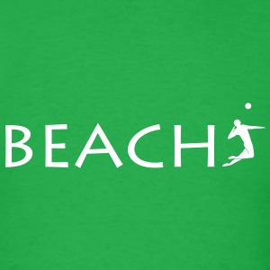 beachvolleyball beach Volleyball  T-Shirts - Men's T-Shirt