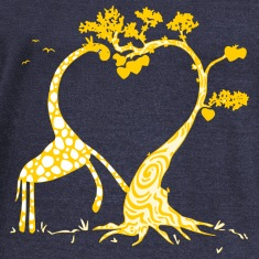 girrafe love Long Sleeve Shirts