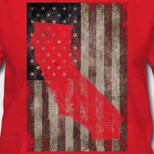 Cali USA Flag Shirt Diego Hoodies - Women's Hoodie
