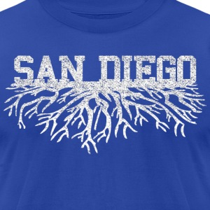 My San Diego Roots Shirt Diego T-Shirts - Men's T-Shirt by American Apparel