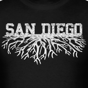 My San Diego Roots Shirt Diego T-Shirts - Men's T-Shirt