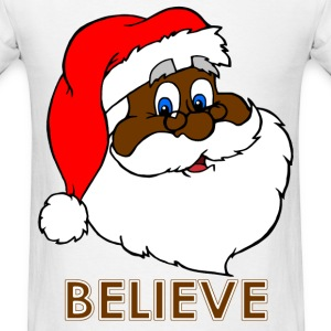 Black Santa Claus - Men's T-Shirt