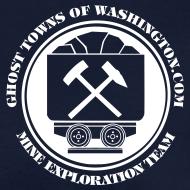 Design ~ Women's Navy Mine Exploration Team T-Shirt