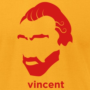 Vincent Van Gogh T-Shirts - Men's T-Shirt by American Apparel