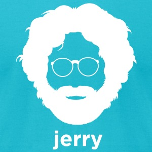 Jerry Garcia T-Shirts - Men's T-Shirt by American Apparel