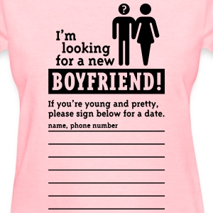 Looking For A Boyfriend (F) Women's T-Shirts - Women's T-Shirt
