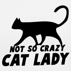 NOT SO CRAZY cat lady Women's T-Shirts