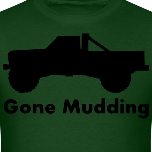 gone mudding truck _ T-Shirts - Men's T-Shirt