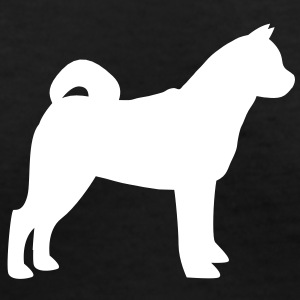 Boxer simple Husky show dog breeder Women's T-Shirts - Women's V-Neck T-Shirt