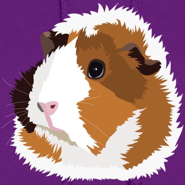 Retro Guinea Pig 'Elsie' Ladies Sweatshirt (no text)