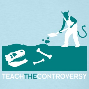 Devil Bones (Teach the Controversy) T-Shirts - Men's T-Shirt