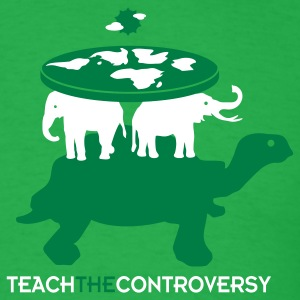 Elephant Cosmology (Teach the Controversy) T-Shirts - Men's T-Shirt