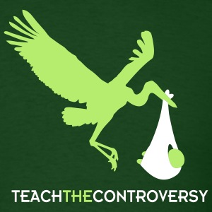 The Stork (Teach the Controversy) T-Shirts - Men's T-Shirt