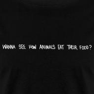 Design ~ Animals Text T-Shirt