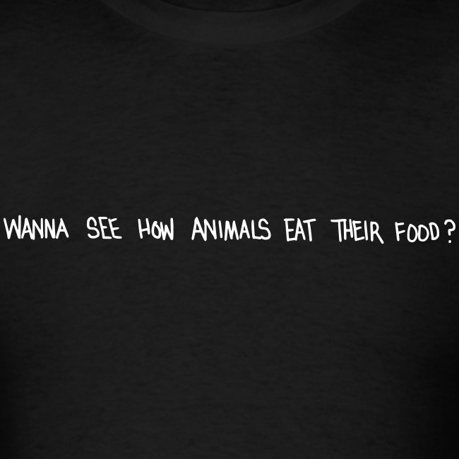 Animals Text T-Shirt