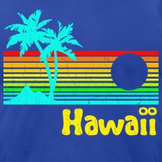 1980s Retro Vintage Hawaii
