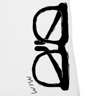Design ~ Animals Glasses V-NECK (women)