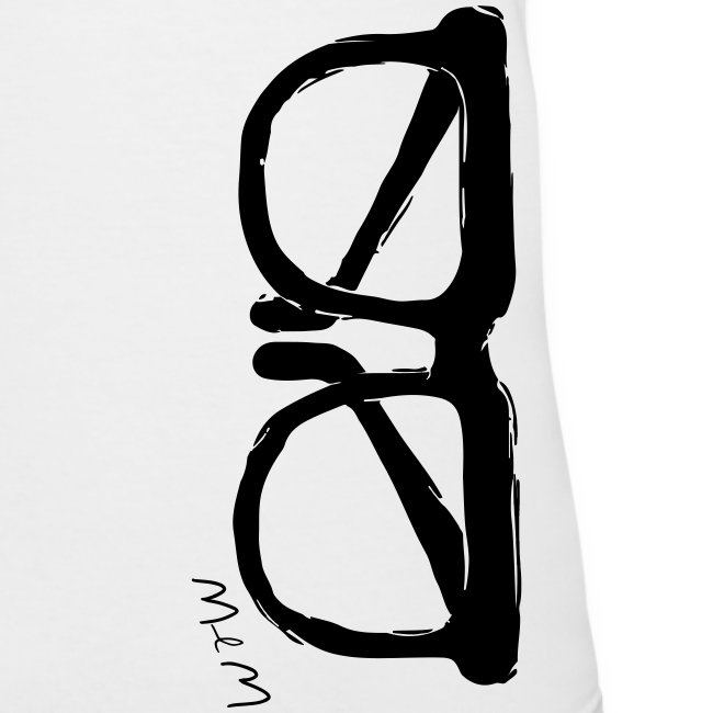 Animals Glasses V-NECK (women)