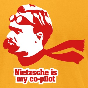 Nietzsche is my Copilot T-Shirts - Men's T-Shirt by American Apparel