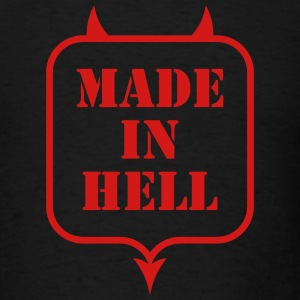 MADE IN HELL T-Shirts - Men's T-Shirt