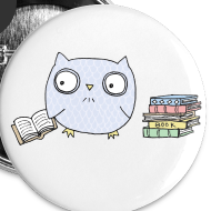 Design ~ Reading Owl Buttons