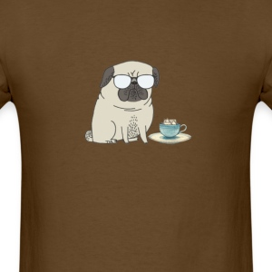 tea time for Mr Pug T-Shirts - Men's T-Shirt