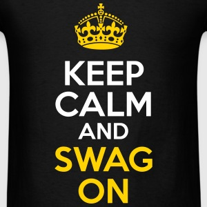 KCCO - Keep Calm and Swag On T-Shirts - Men's T-Shirt