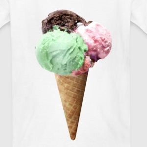 ice cream Kids' Shirts - Kids' T-Shirt