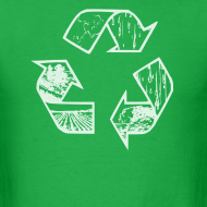 Design ~ Recycling Tee (white)